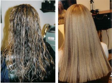 Bio Ionic Hair Straightening
