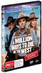 A Million Ways to Die in the West DVDs