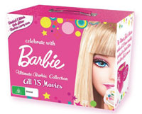 Barbie 50th Anniversary DVD collections