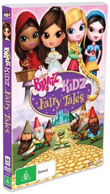 bratz kidz fairy tales dvds