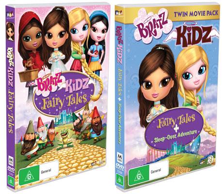 bratz kidz fairy tales amp bratz kidz twin pack dvds