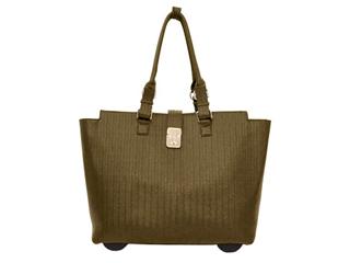 Textured Overnight Bag