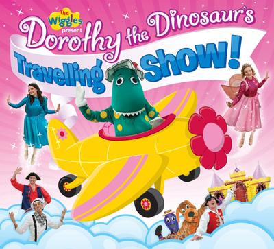 Dorothy The Dinosaur's Travelling Show DVD Wiggles Dorothy The Dinosaur Dvd