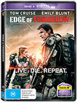 Edge of Tomorrow DVDs