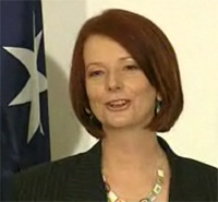 Julia Gillard Australian Prime Minister