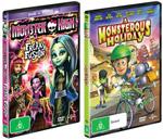 Monster DVD Prize Pack