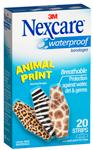 Nexcare Animal Print Waterproof Bandage Packs