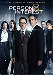 Person Of Interest: The Complete Third Season Blu-rays