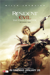 Resident Evil: The Final Chapter Movie Tickets
