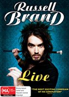 Russell Brand Live DVDs