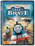 Thomas and Friends: Tale of the Brave DVDs