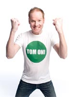 Tom Gleeson TOM ON Comedy Show