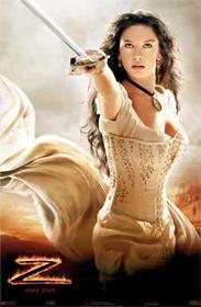 Zorro Antonio Banderas On Horse Catherine Zeta-Jones -...