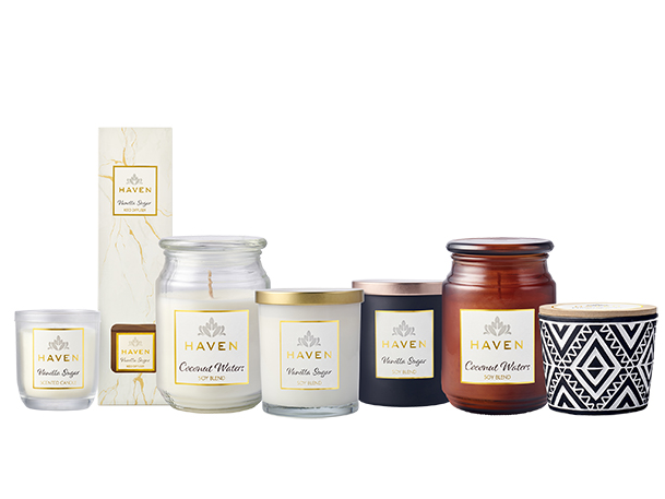 Haven Scented Candles & Diffuser