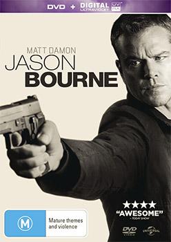 Jason Bourne DVD