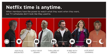 Netflix Members Elect Their Own TV Schedule