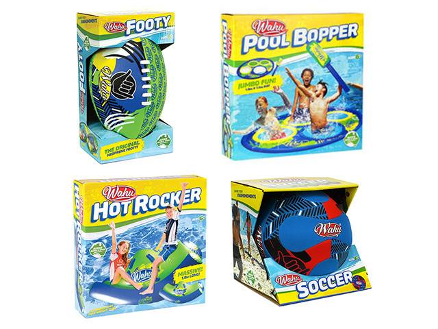 Wahu Pool and Beach Toys this Summer