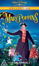 Mary Poppins Packshot VHS