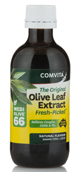 Olive leaf extract for colds