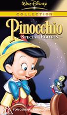 Pinocchio SPEC ED Packshot VHS