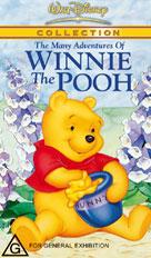Many Adventures of Winnie the Pooh Packshot VHS